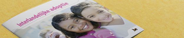 Cover brochure Interlandelijke adoptie